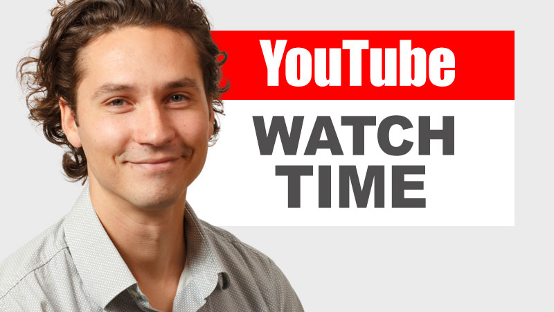 YouTube Watch Time with Adrian Lurie